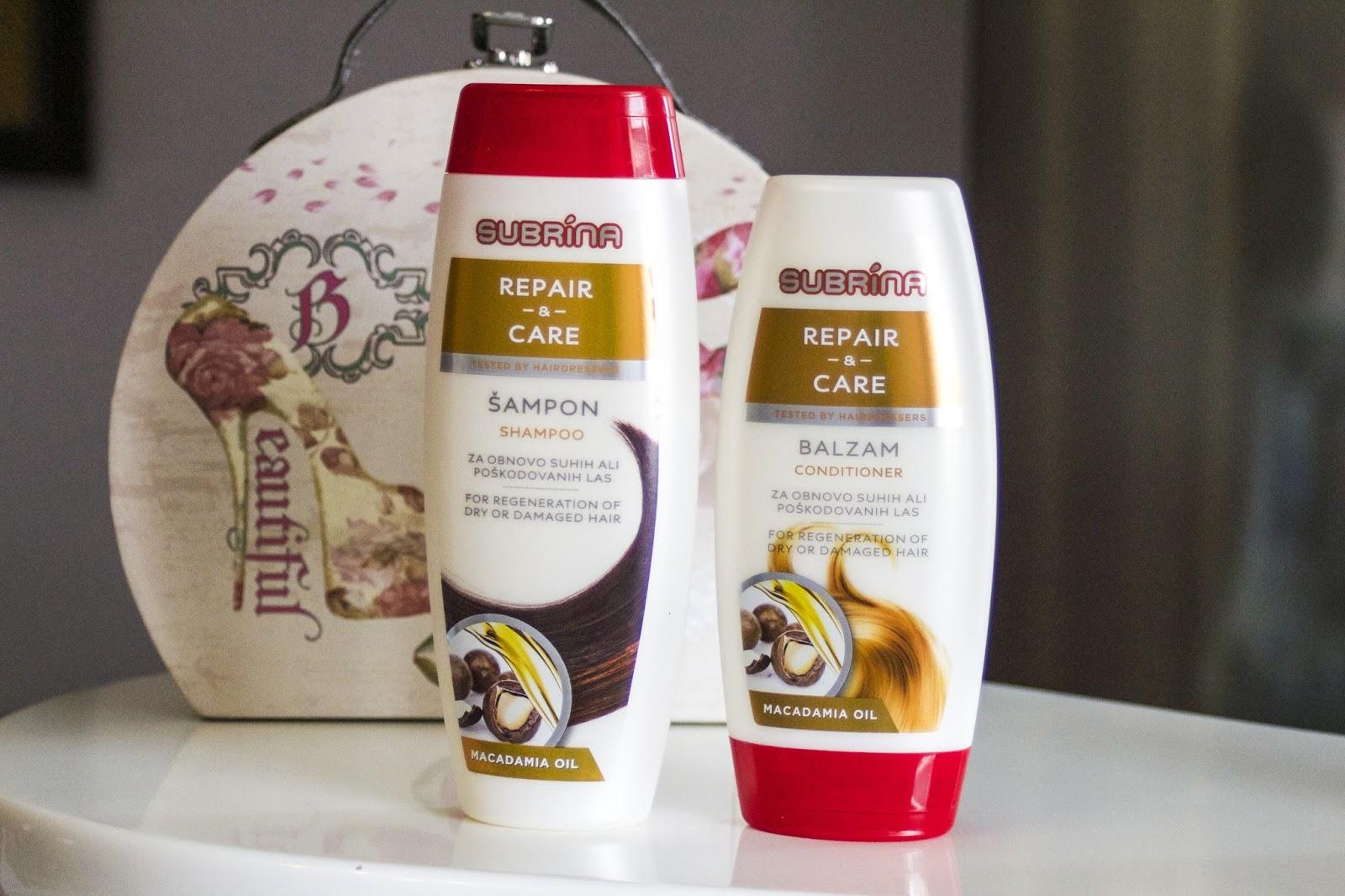 Subrina Repair - & - Care, šampon i regenerator