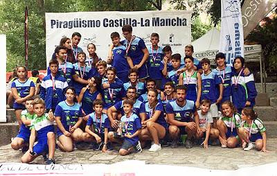 Piragüismo Aranjuez en Cuenca