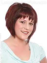 Gaya Rambut Untuk Wajah Bulat: Edgy Bobv