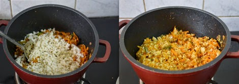 how to make kodo millet carrot rice