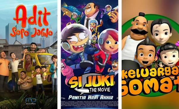 7 Film Animasi Indonesia Terbaik Buatan Anak Bangsa