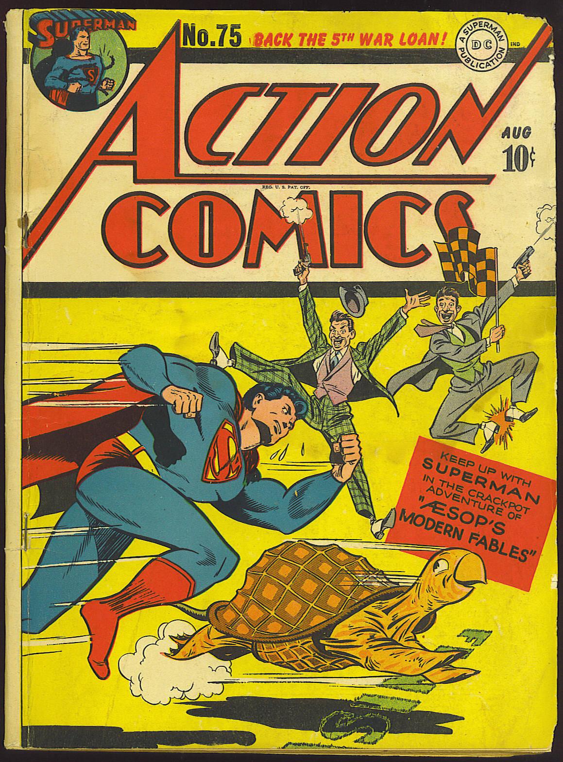 Action Comics (1938) 75 Page 1
