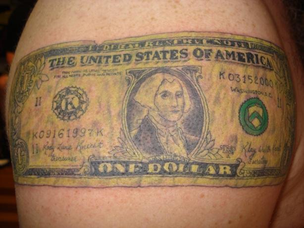tattoo hantu malang: Forex tattoo dollar
