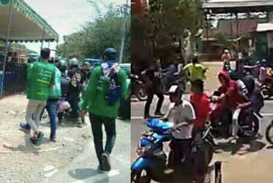 Video Detik-Detik Bentrokan PSHT Dan Bonek di Jember