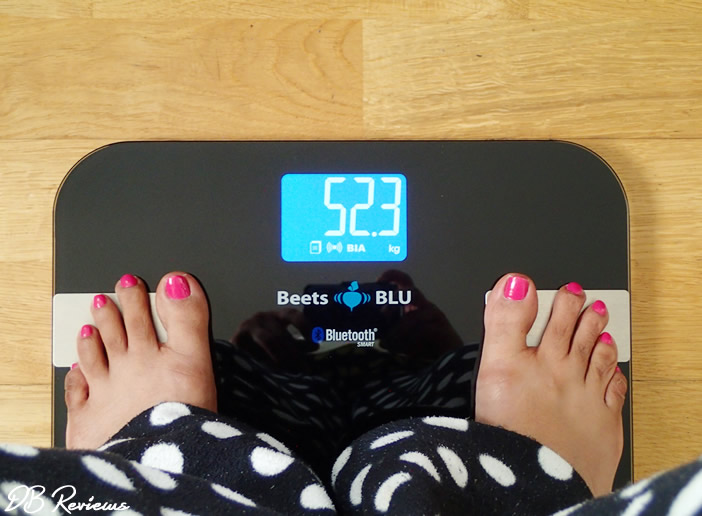 Beets BLU Bluetooth bathroom scale