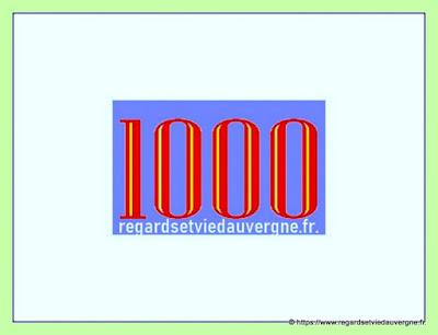 1000 articles regardsetviedauvergne.fr.
