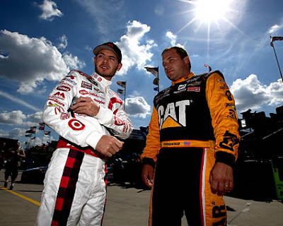 Newman Wins the Race / Larson Takes the Points Lead #NASCAR