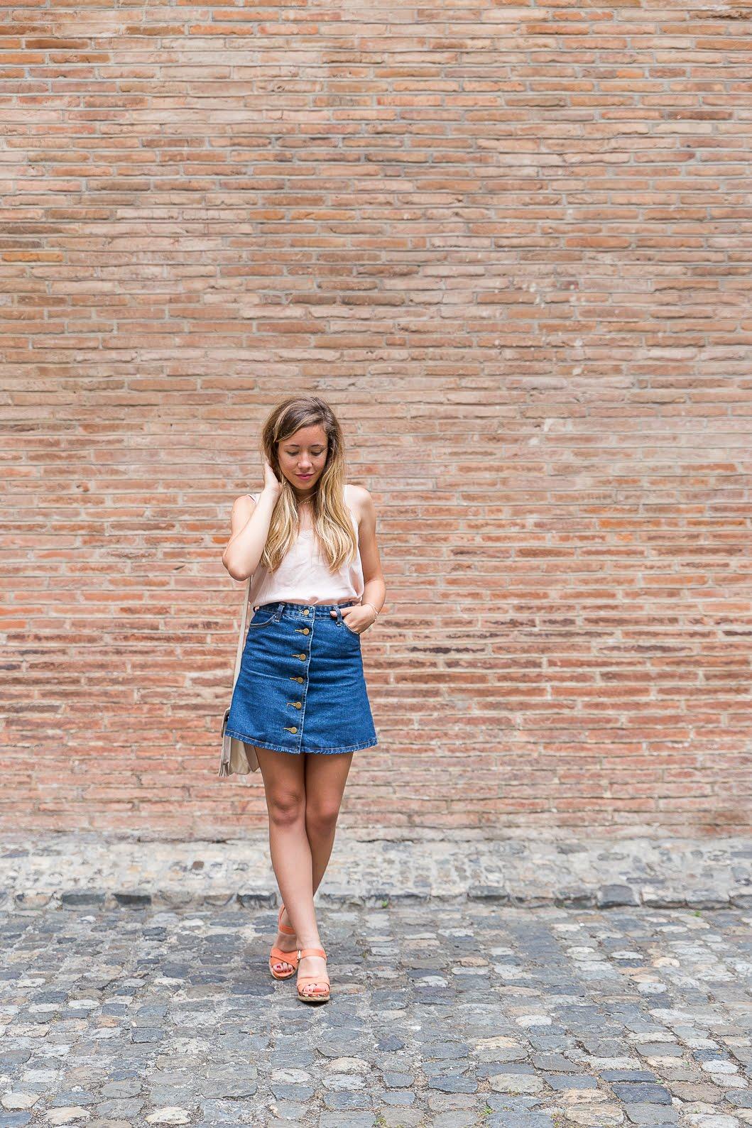 blog mode mur briques shooting