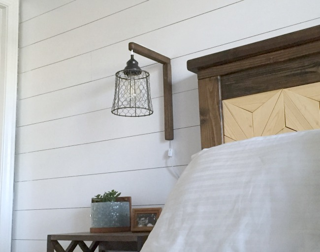 DIY Plug-in Sconces, from pendant lights | My Love 2 Create