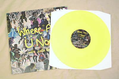 where are u now, vinyl, yellow, piss coloured, rsd, rsd16, record store day, exclusive, sleeve, vinyl, vinyls, records