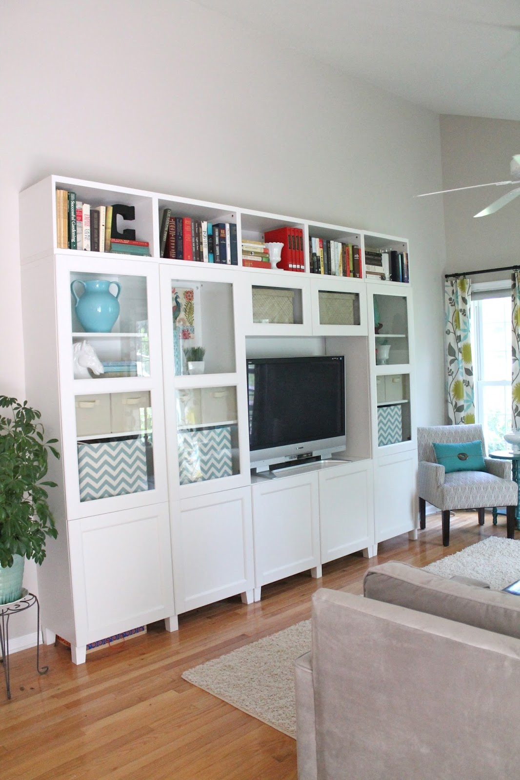 the new family room reveal. Black Bedroom Furniture Sets. Home Design Ideas