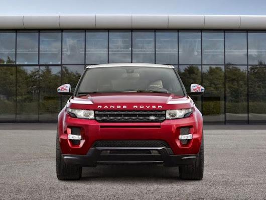 All About Vehicles: Range Rover announced Range Rover Evoque SW1 for Paris Motor Show