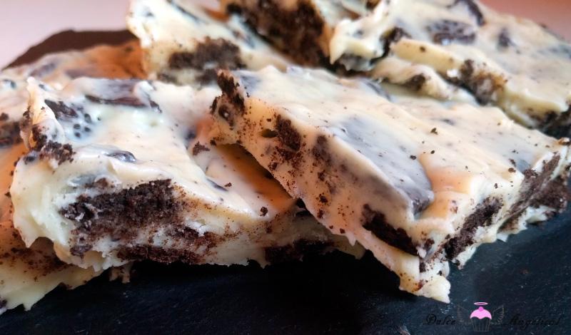 Chocolate blanco, Oreo y condensada