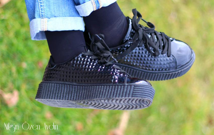 alışveriş-Koyun Yünü Astarlı Parka-fashion blogger-moda blogu-fashion blog-parka-siyah rugan topuksuz ayakkabı