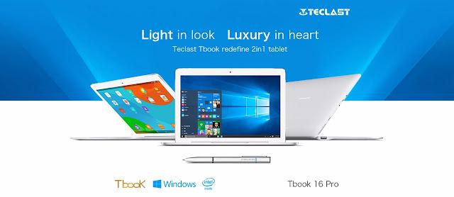 Teclast Tbook 16 Pro 2 In 1 Release Date
