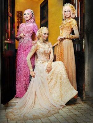 Model Gaun Kebaya Muslim