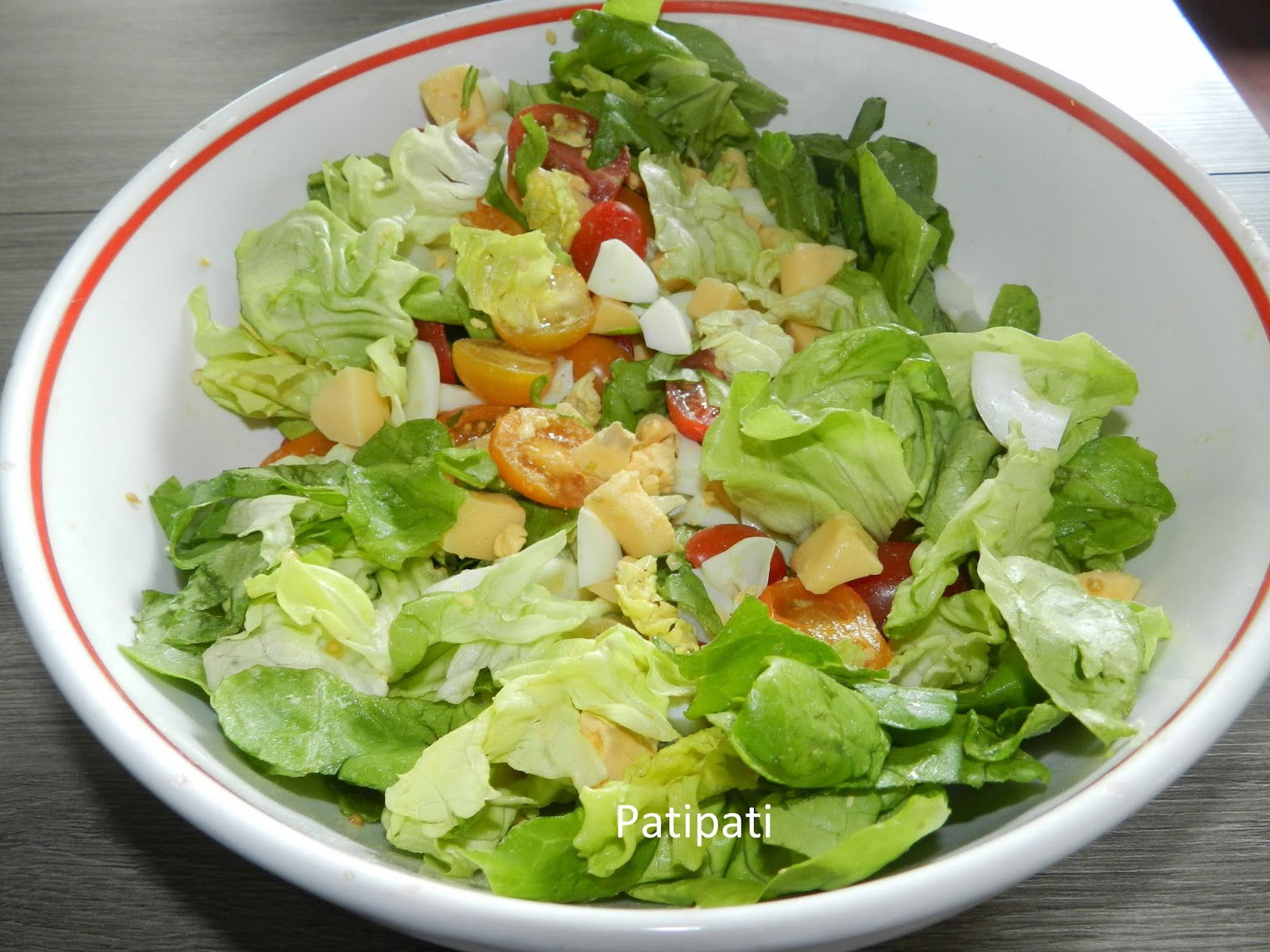 Salade pour accompagner votre barbecue