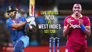 India vs West Indies 1st T20 2018,