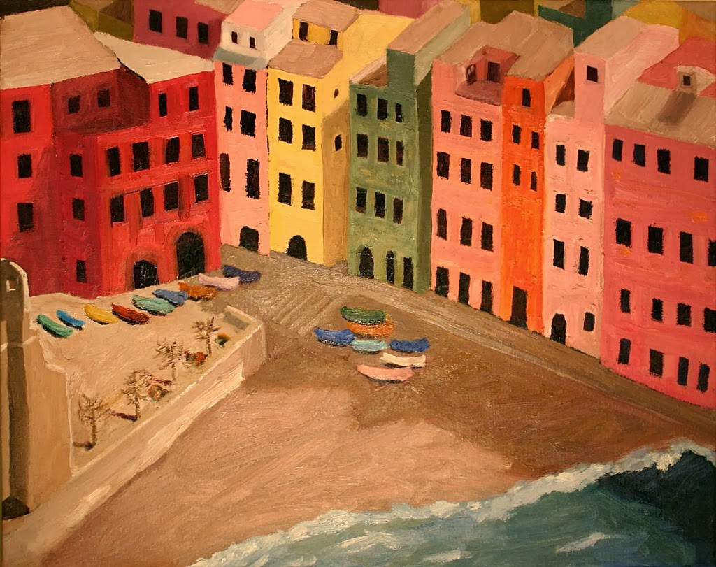 Vernazza painting
