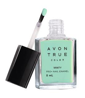 Avon True Color Nail Wear Pro+ Nail Enamel - Minty - MRP 149