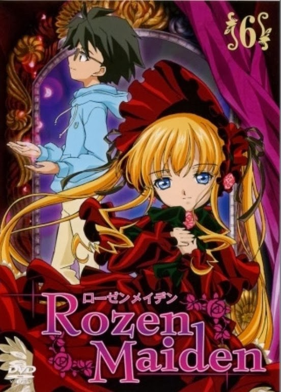 ローゼンメイデン  .    Rozen Maiden  ,     ローゼンメイデン ~ トロイメント  ,    Rozen Maiden: Dreaming  .    Rozen Maiden: Träumend  ,    Rozen Maiden: Traumend  ,    Rozen Maiden 2  ,     ローゼンメイデン・オーベルテュー  ,    Rozen Maiden: Ouvertüre  ,  Rozen Maiden: Ouverture  ,     ローゼンメイデン (2013)  ,     Rozen Maiden (2013)    ,     الزهرة العذراء  ,  Rozen Maiden 2013    ,  Rozen Maiden: Zurückspulen