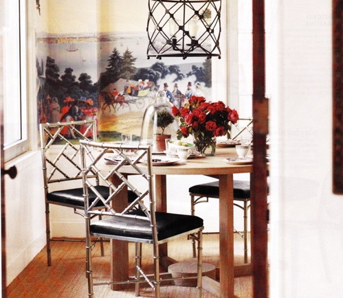 The Peak of Très Chic: Breakfast Nooks