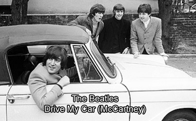 Drive My Car Mccartney The Beatles Lyrics Chords And Video