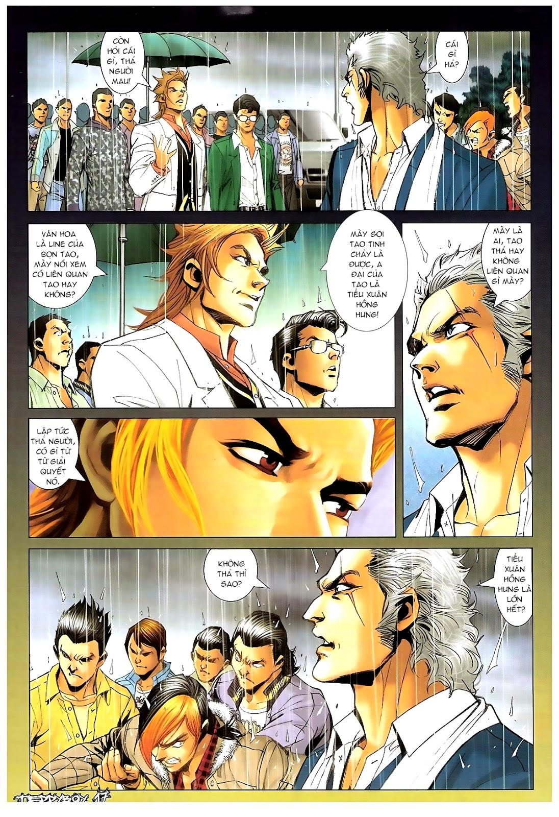 Người Trong Giang Hồ - Chapter 1383: Tiểu Xuân vs Thế Chương - Pic 14