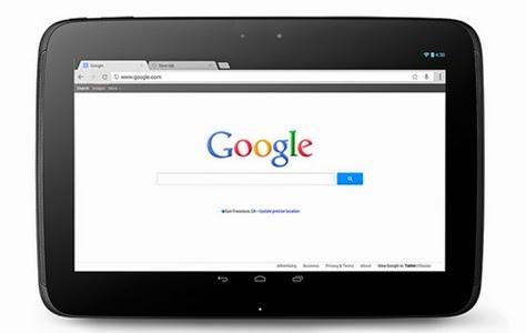 Google Nexus 10 Spesifikasi dan harga