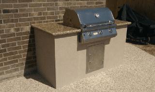 Custom Outdoor Kitchen DFW 1