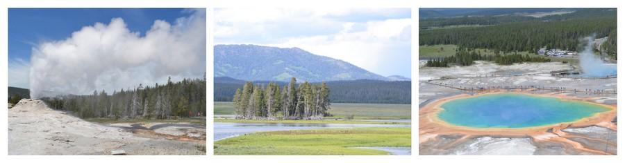 Visite du Yellowstone