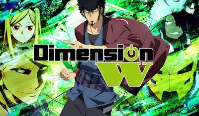 جميع حلقات انمي Dimension W مترجم عدة روابط