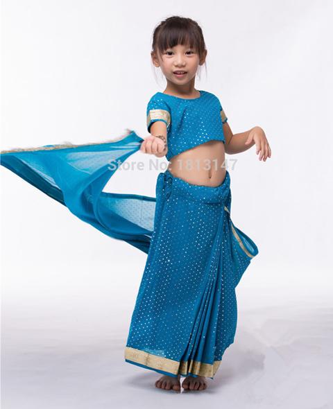 model baju sari india untuk anak