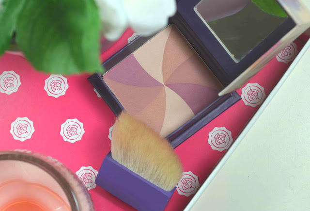 Hervana - pink blusher - Benefit - natural blush - cool toned - review - swatch - boxed blusher - compact - multi shade