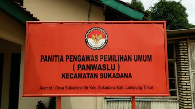 DPT Kecamatan Sukadana Dinilai Kacau dan Amburadul