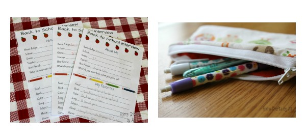 recent posts on home crafts by ali back to school projects