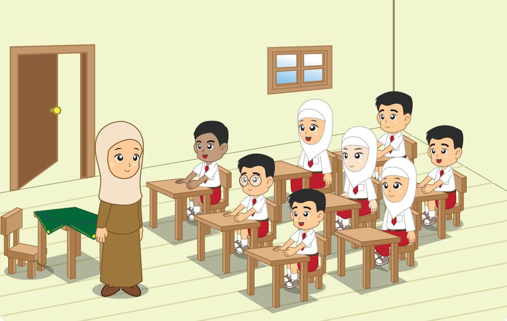 Mirzan Blog S 15 Trend Terbaru Gambar Kartun Dab Terhadap Guru Dan Teman