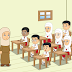 Akhlak Murid pada Guru dan Teman Kelas