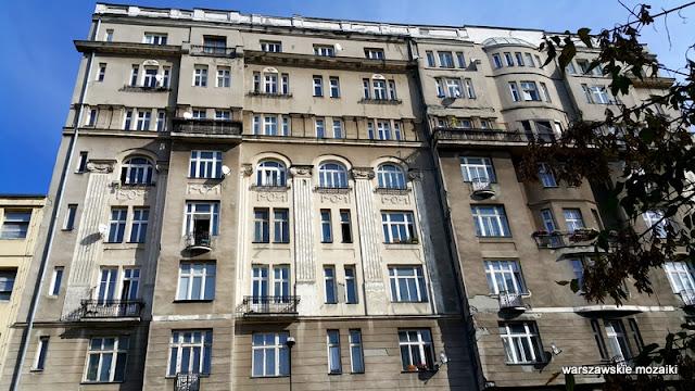 Warszawa Warsaw architektura Śródmieście ulica kamienica