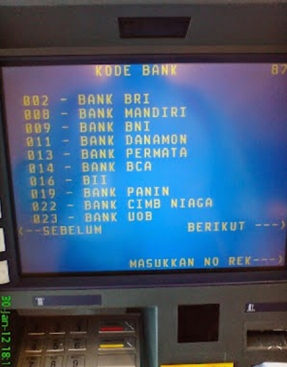 Kode Bank Bri Simpedes Untuk Transfer