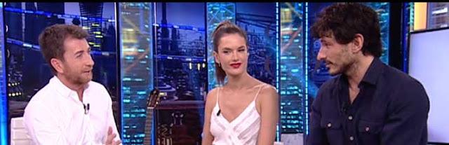 Andres Velencoso y Alessandra Ambrosio en el Hormiguero Foto: Vídeo Antena 3