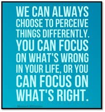 Focus on what you have and not what you don't have oneplace