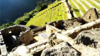 Templo do Sol e Construções de Machu Picchu
