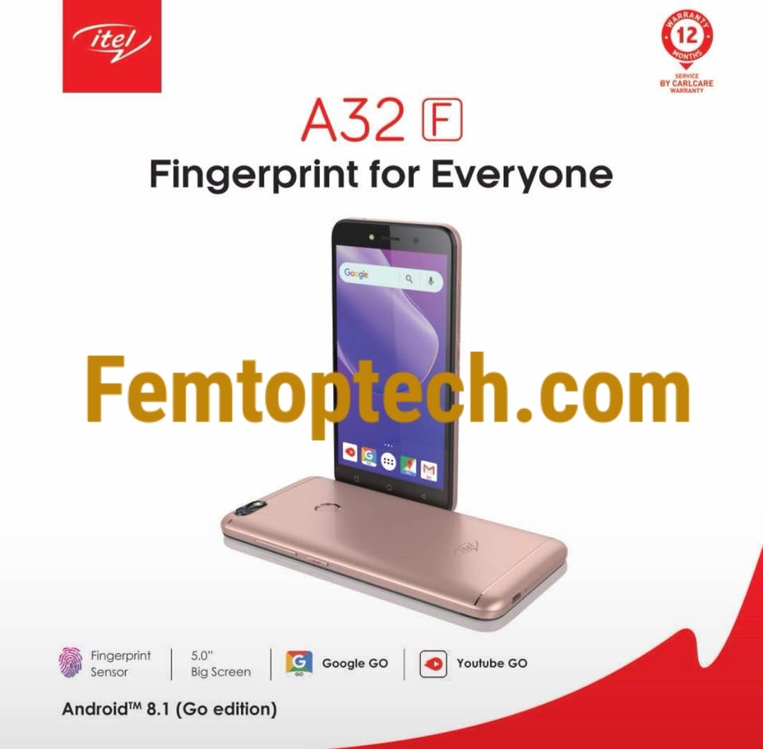 Itel A32F Specification and Price