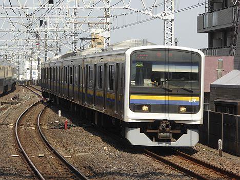 【まさかの専用HMは?】総武本線 快速 青い海 209系(両国~館山)