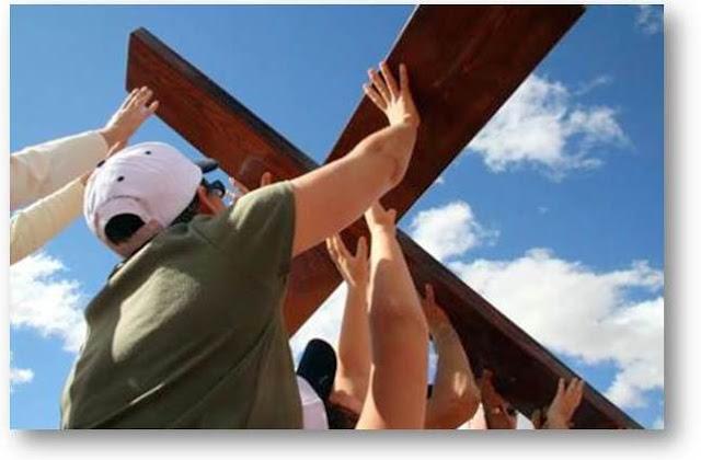 Resultado de imagen de via crucis parroquia ntra. sra. de guadalupe. Los realejos