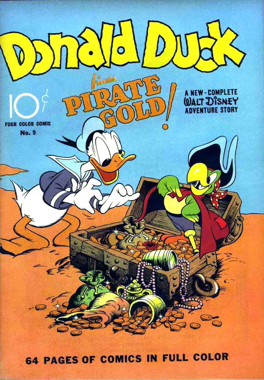 donald duck four color comics v2 9 carl barks art cover 1st barks donald duck pencil ink. Black Bedroom Furniture Sets. Home Design Ideas