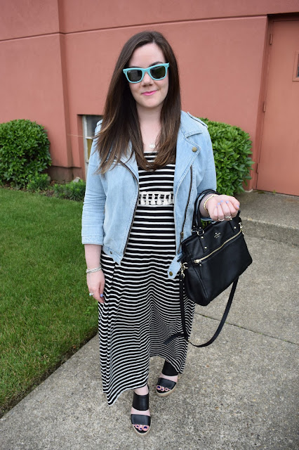 Sequins and Skulls: Cloudy With A Chance of Stripes