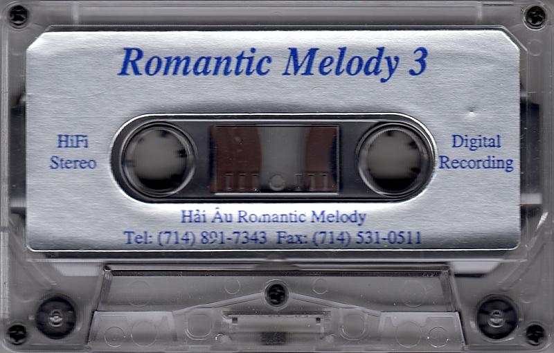 Tape Nhạc Tình Piano 3 - Tiễn Nhau Trong Mưa - Hòa Tấu (WAV)