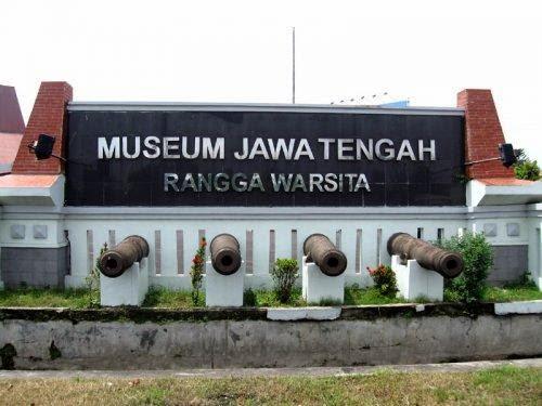 Wisata Sejarah Museum Ronggowarsito Semarang